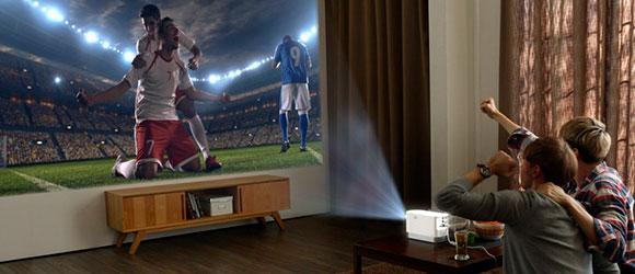 Использование мультимедийного проектора для оборудования домашнего кинотеатра