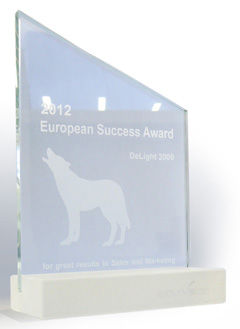 WolfVision European Award of Success for 2012